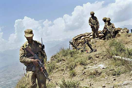 Pak army in action - Swat Valley