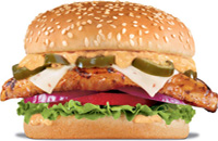 jalapeno burger at hardees