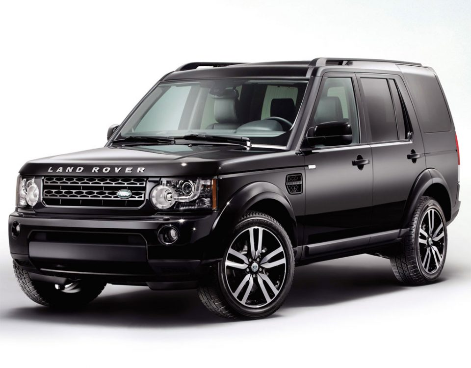 land rover - discovery black 05
