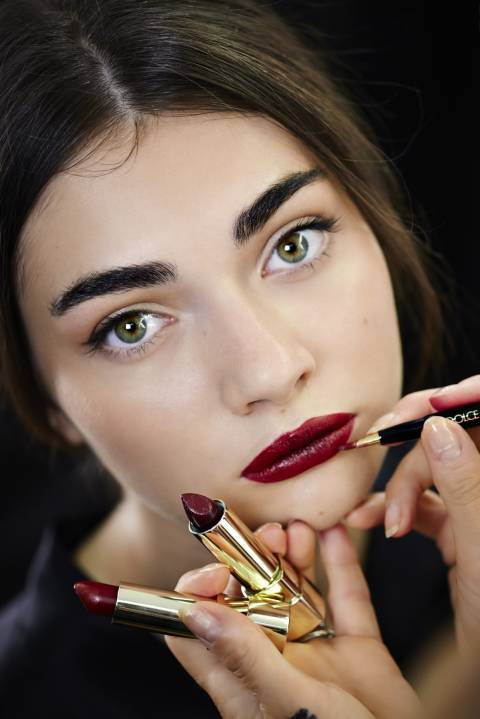 Dolce and Gabbana - SS15 Milan - beauty trends
