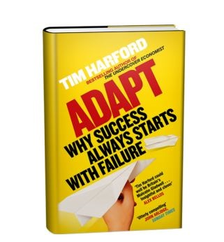 Adapt - book cover