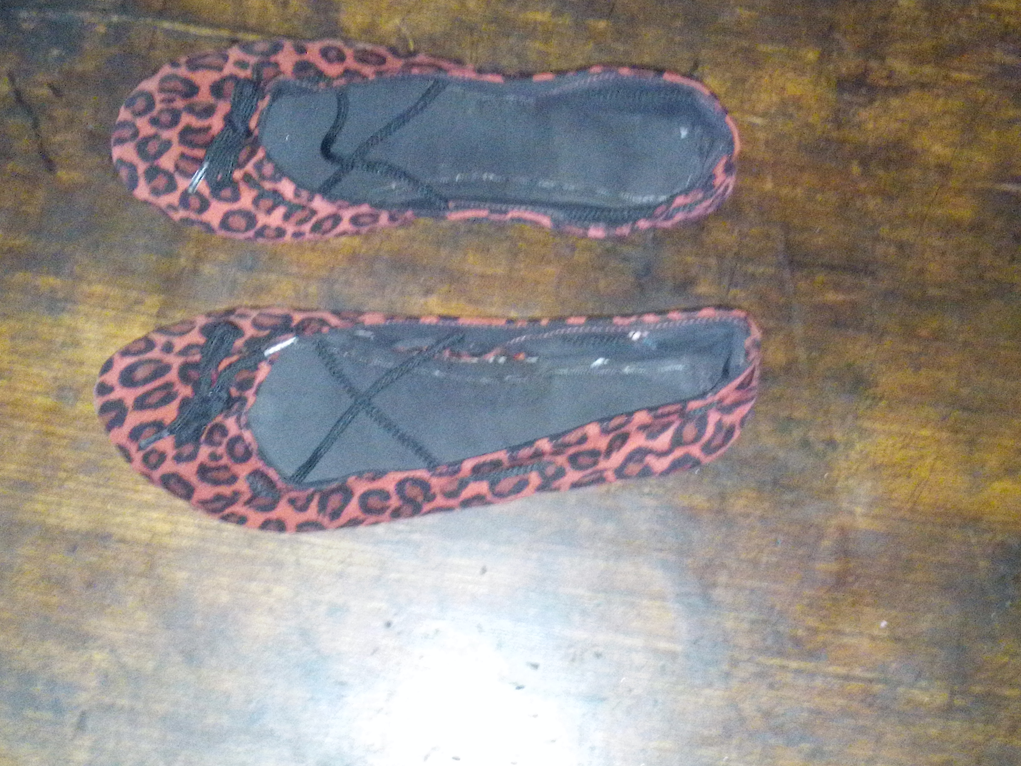 Ballet slippers - made by me...